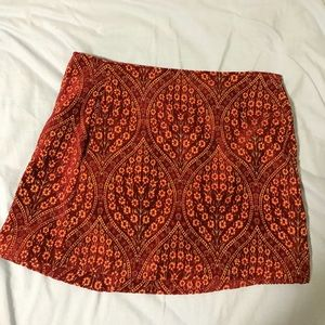 Urban Outfitters Velvet Skirt from barcelona!